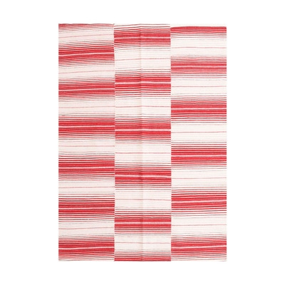 ALFOMBRA HANDWOVEN RUSTIC RED 160X230